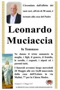 Muciaccia Leonardo
