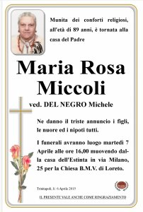 Maria Rosa Miccoli