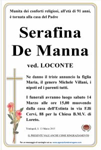 Serafina De Manna