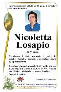 nicolettalosapio