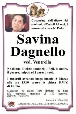 Annuncio Dagnello Savina