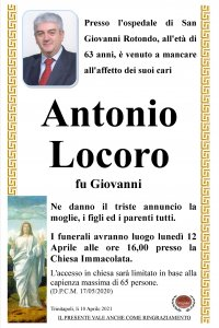 ANNUNCIO LOCORO