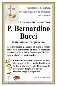 Annuncio Padre Bernardino