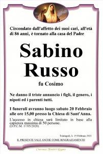 annuncio Russo Sabino