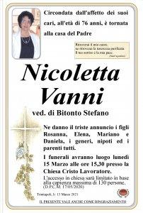 annuncio Vanni Nicoletta