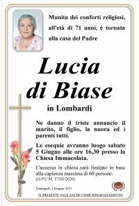 annuncio di Biase Lucia