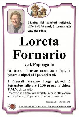 annuncio Fornario Loreta