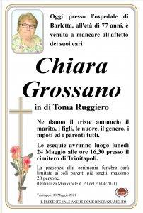 annuncio Grossano Chiara