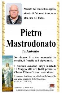 annuncio Mastrodonato Pietro