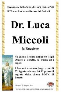 annuncio Miccoli Luca