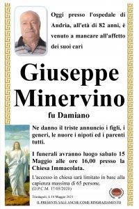 Annuncio Minervino Giuseppe