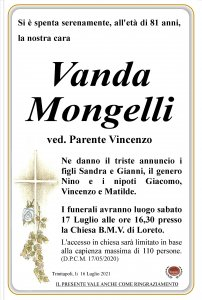 annuncio Mongelli Vanda 1