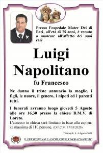 annuncio Napolitano Luigi