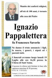 annunzio Pappalettera Ignazio