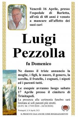 Annuncio Pezzolla Luigi