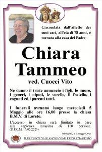Annuncio Tammeo Chiara