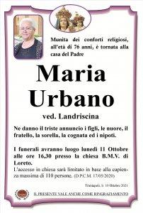 annuncio Urbano Maria